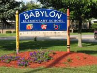 BES school sign photo