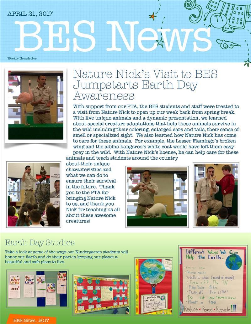 BES Newsletter image