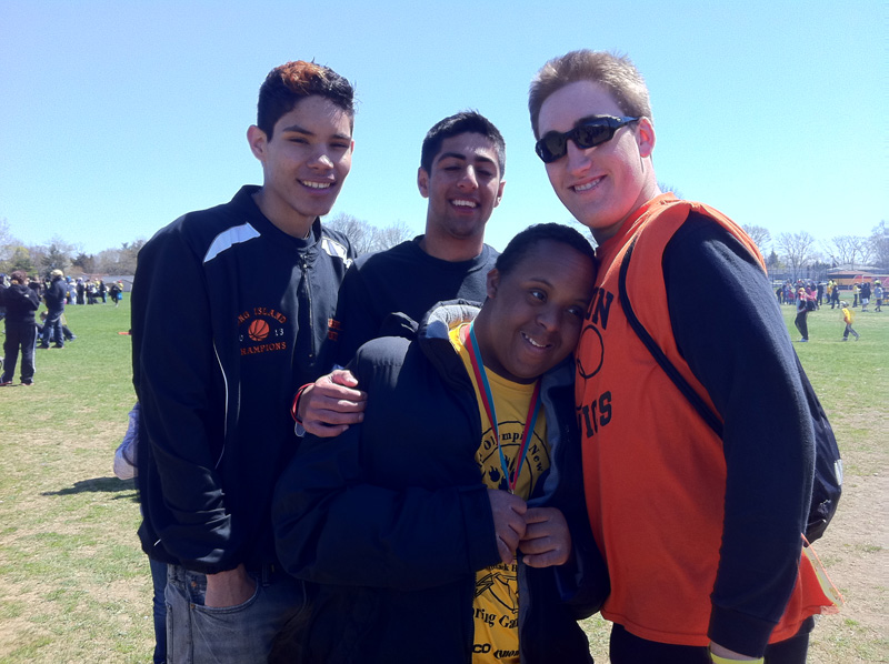"Babylon HS Students Assist at Special Olympics Spring Games <span class=""small"">(more)</span>"